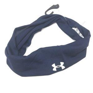 Unisex Under Armour Navy Headband Wrap Game Day